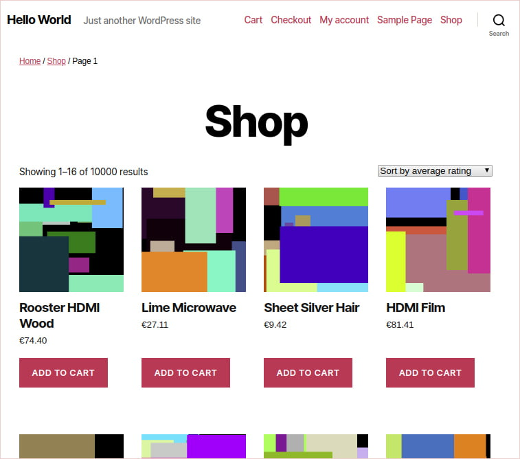sell goods with WooCommerce