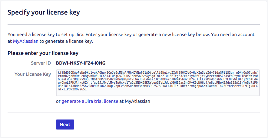 Jira Project Management Software License Key