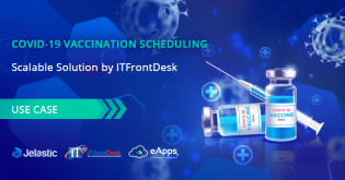 Scalable Covid-19 Vaccination Scheduling Solution by ITFrontDesk
