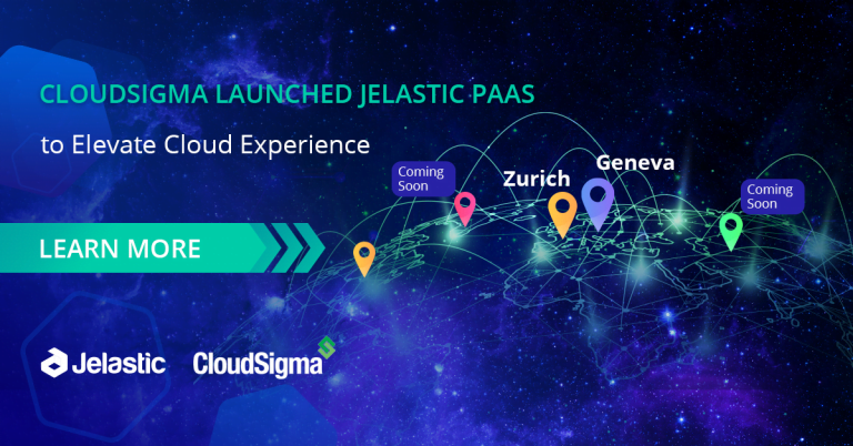 Jelastic PaaS Now Available across CloudSigma Data Center Operators for Elevated Cloud Experience