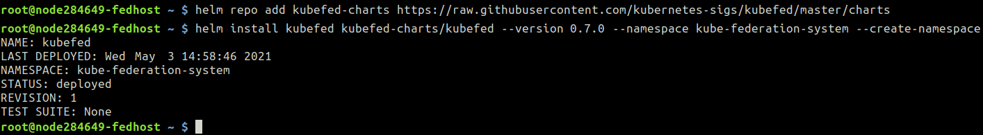 Kubernetes Cluster remote access
