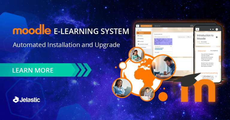 Moodle Online Learning System Automated Installation and Upgrade