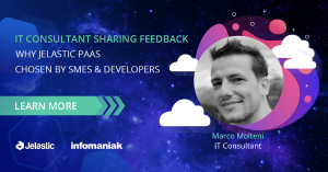 IT Consultant Sharing Feedback Why Jelastic PaaS Chosen by SMEs and Developers