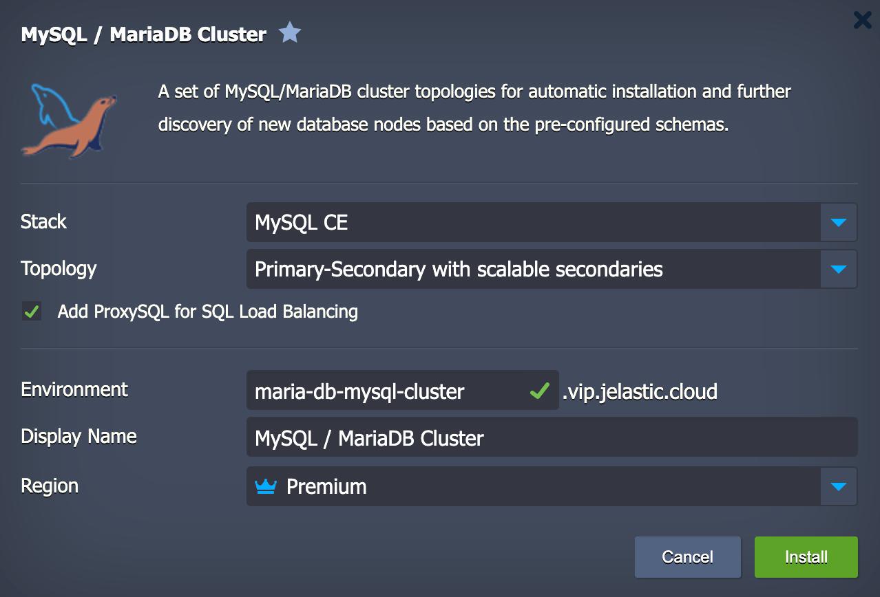 MariaDB / MySQL
