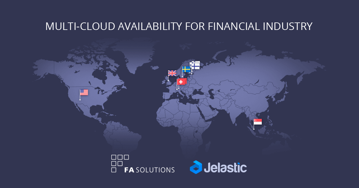 Multi-Cloud Availability for Financial Organizations: Data Security, Local Hosting and Fast Time to Market